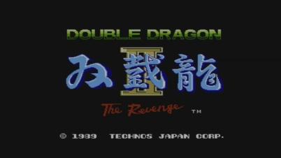 Double Dragon II Virtual Console