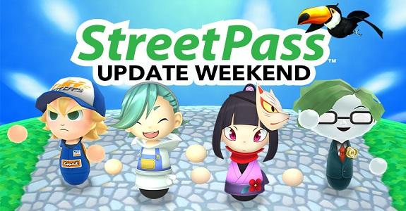 StreetPass Update Week-End