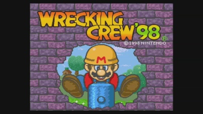 Wrecking Crew 1998 Virtual Console