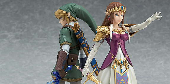 Figma Link And Zelda Twilight Princess Ver Pictures And