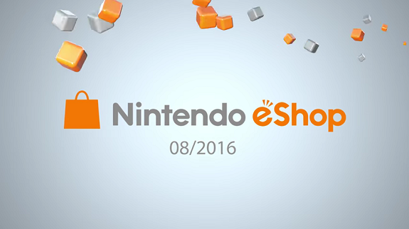 Nintendo eShop highlights August 2016