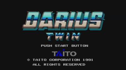Darius Twin Virtual Console