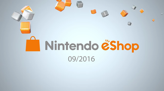Nintendo eShop highlights Sept. 2016