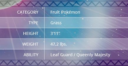 Pokemon Sun and Moon Tsareena
