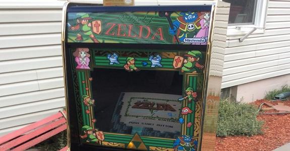 Zelda arcade