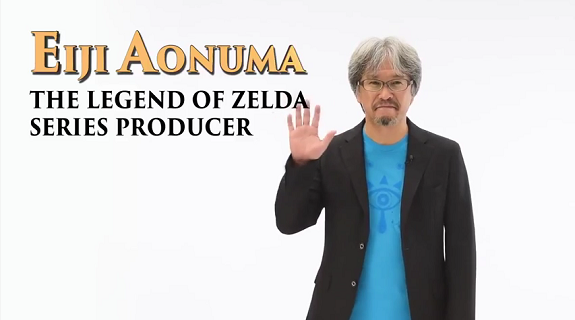 Eiji Aonuma Golden Joystick Awards 2016
