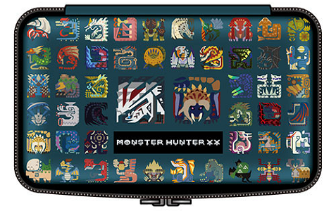 Monster Hunter XX New Nintendo 3DS XL pouch