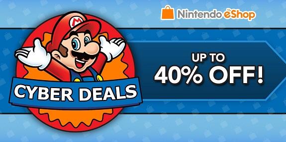 Nintendo eShop Cyber Deals 2016