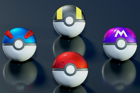 Pokéball candies