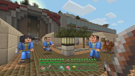 Minecraft: Wii U Edition Fallout