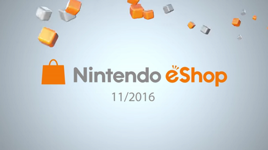Nintendo eShop Highlights November 2016