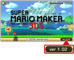 Super Mario Maker for Nintendo 3DS 1.0.2