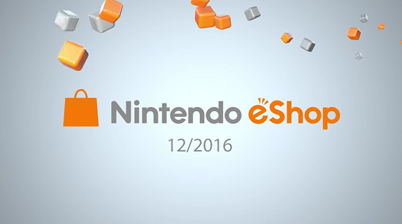 Nintendo eShop Highlights Dec 2016
