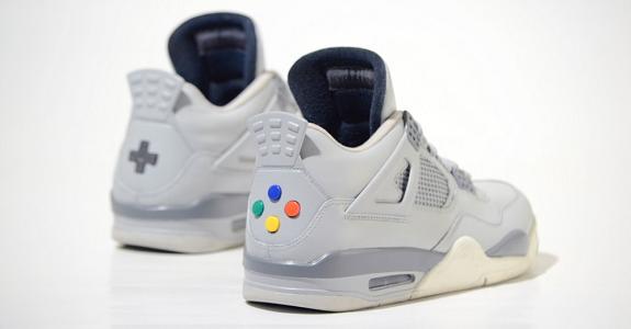 SNES sneakers