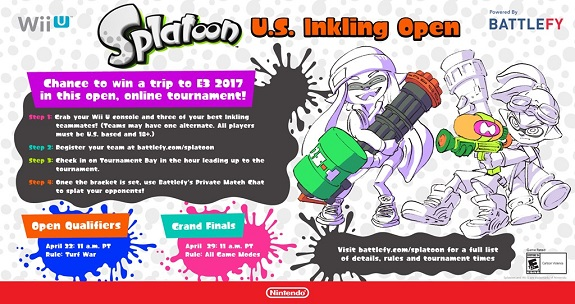 Splatoon U.S. Inkling Open 1