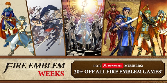 Fire Emblem Weeks Sale