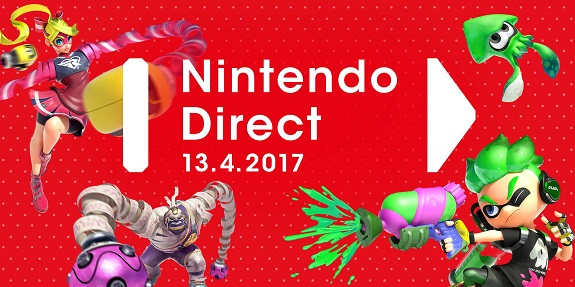 nintendo direct new presentation announced for april 12th 13th