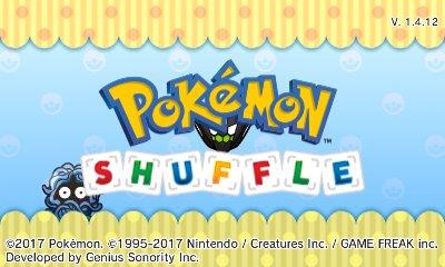 Pokémon Shuffle Ver. 1.4.12