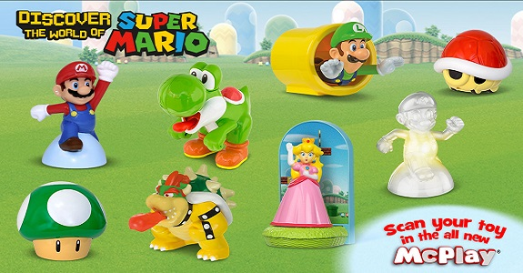 Super Mario Happy Meals