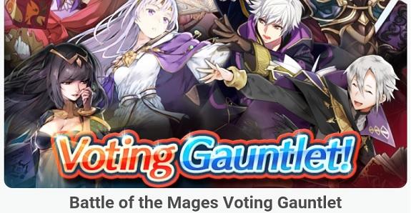 Fire Emblem Heroes Voting Gauntlet 3