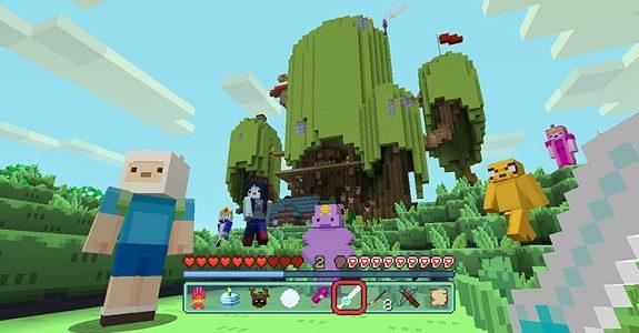 Minecraft Wii U Switch Adventure Time MashUp Pack More DLC - Minecraft skins fur wii