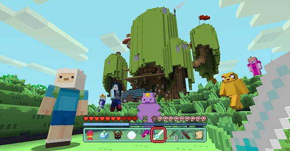 Minecraft Adventure Time
