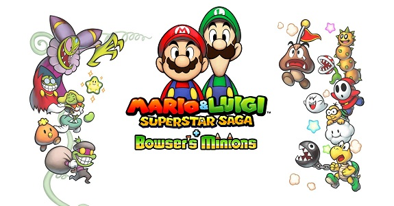 Mario Luigi Superstar Saga Bowser S Minions Jp Website