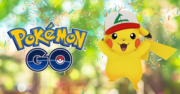 Pokemon GO 1st Anniversary