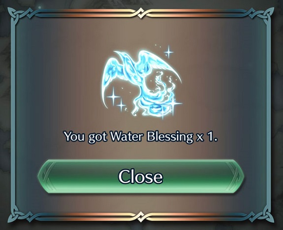 Fire Emblem Heroes Blessings
