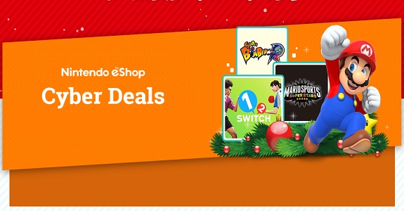 NintendoeShop Cyber Deals
