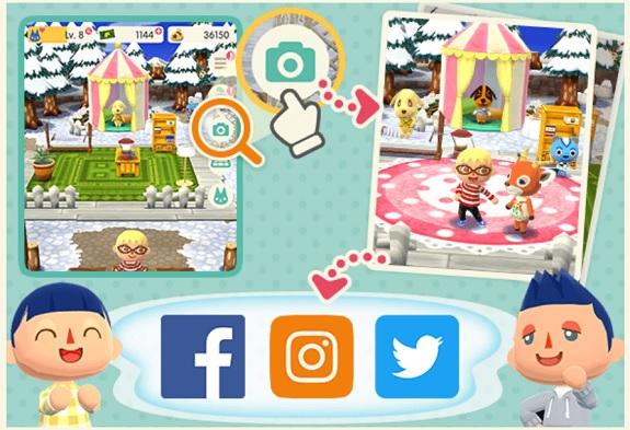 Animal Crossing: Pocket Camp Screens