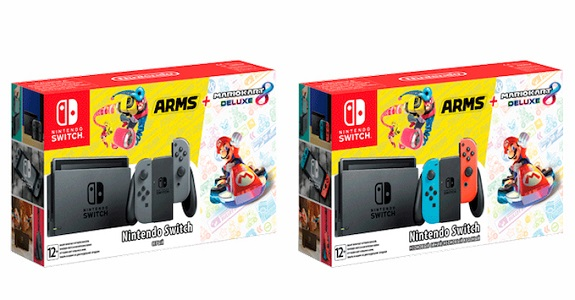 Nintendo Switch: another bundle for Russia (Mario Kart 8