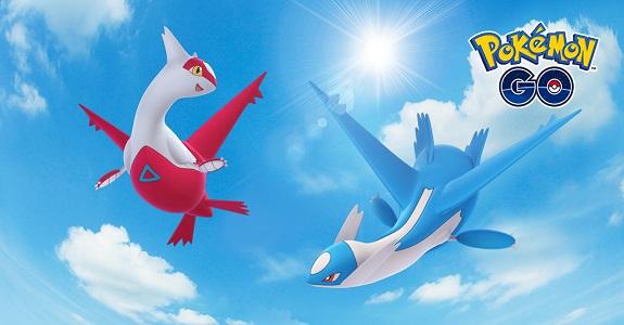 Pokémon GO Latias Latios