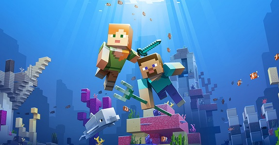 Minecraft: Update Aquatic Phase Two (+ Realms) now live on Nintendo