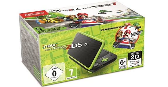 Nintendo 3DS - N2DSXL Lime Green