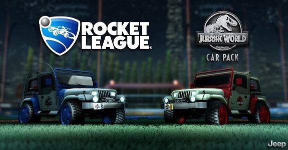 Rocket League Jurassic World