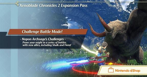 Xenoblade Chronicles 2 Challenge Battle Mode
