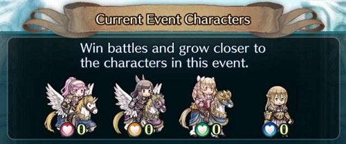 Fire Emblem Heroes Forging Bonds chara