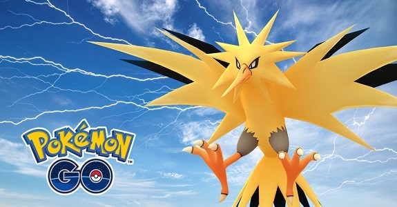 Pokémon GO Zapdos Day
