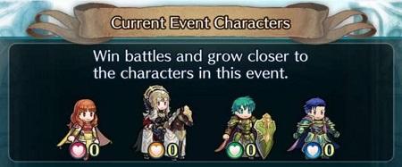 Fire Emblem Heroes Forging Bonds 2 chara