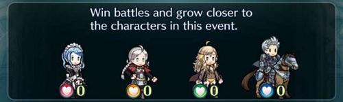 Fire Emblem Heroes Forging Bonds 3 chara