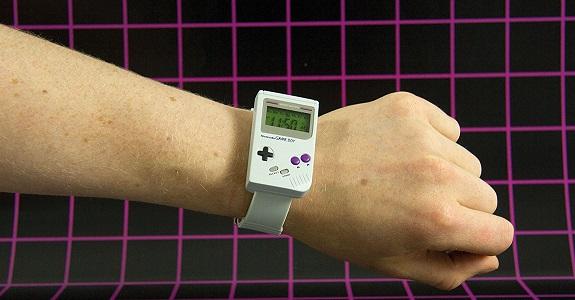 GameBoy wristwatch
