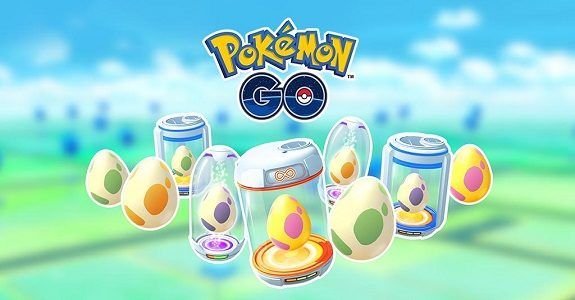 Pokémon GO eggs