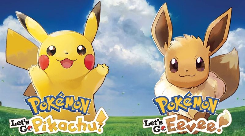 Pokenews April 19 Pokemon Let S Go Pikachu Let S Go