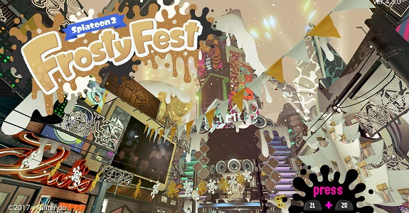 Splatoon 2 Frosty Fes