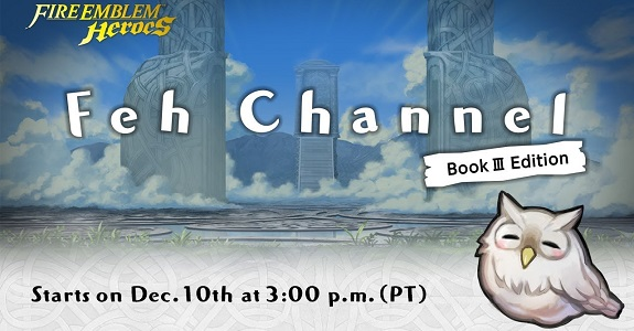 Fire Emblem Heroes - Feh Channel Book III f