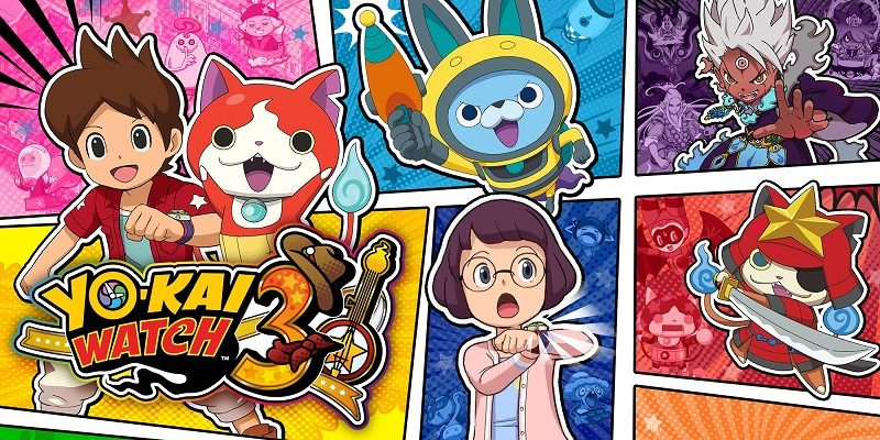 Yo-kai Watch 3: list of passwords / passcodes, QR Codes