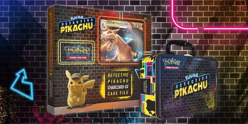 Detective Pikachu Trading Card Game
