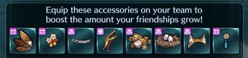 Fire Emblem Heroes Bonds 7 accessories
