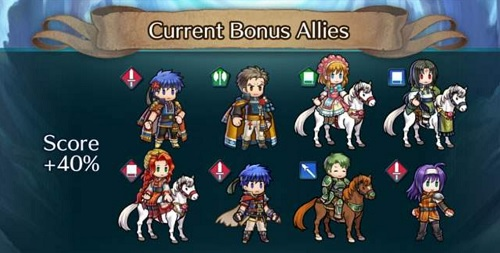 Fire Emblem Heroes TTPP12 Bonus Heroes